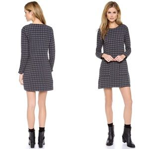 Marc by Marc Jacobs Gray Quilty Argyle Dress